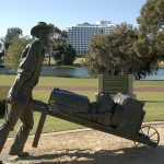 Investment Properties and Amenities - Paddy Hannan Statue, Burswood Park