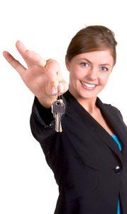woman keys 179x300