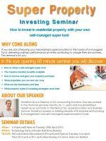 Super Property Investing Seminar