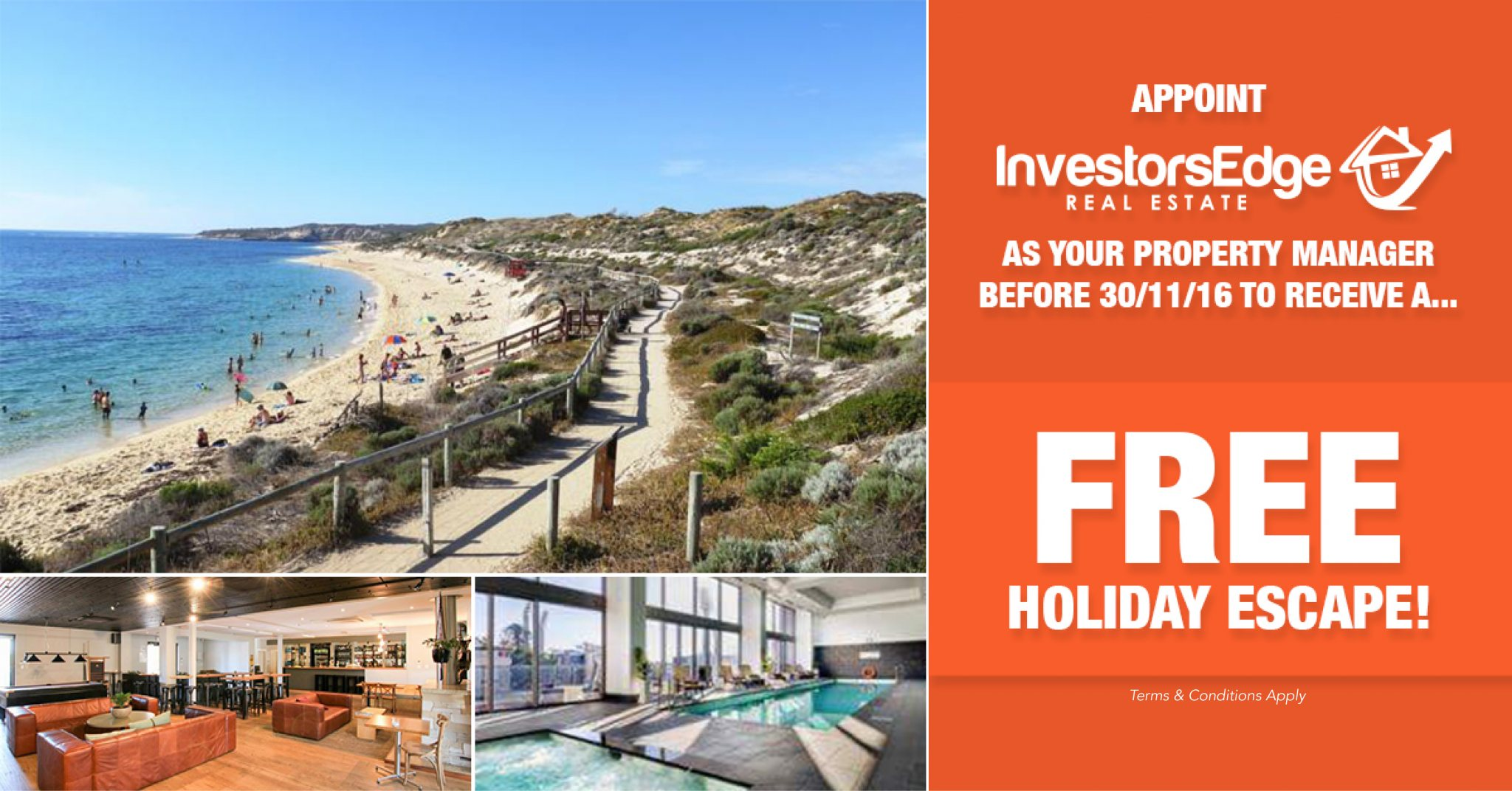 Property Management Luxury Holiday Escape Offer