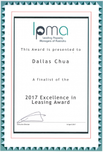 Excellence in leasing Dallas Chua 204x300 2017 LPMA Excellence in Leasing Award Finalist