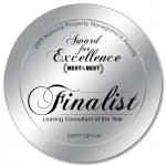 Leasing Consultant of the Year Finalist 150x150